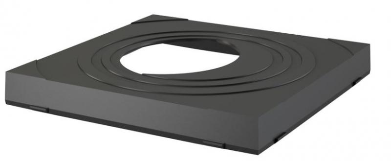 Alcaplast AGV911 Vložka svodu univerzální, černá