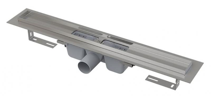 Alcaplast APZ1-750 Podlahový žlab s okrajem pro perforovaný rošt 750mm