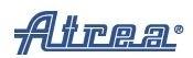 Atrea Náhradní filtrační textilie DUPLEX 850 Inter 2. generace, 10 ks