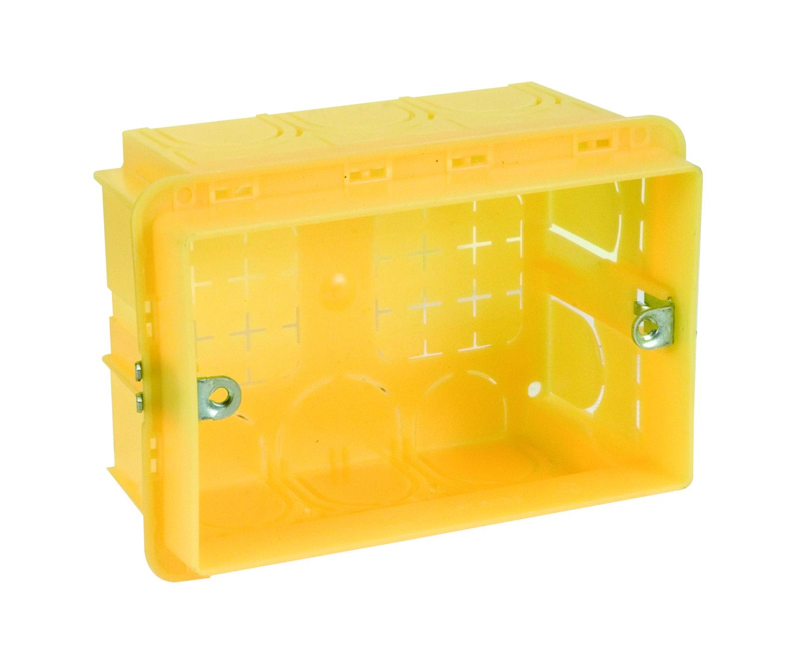 Montážní krabice pro prostorové termostaty typu K490I a K494I Giacomini K489
