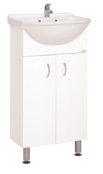 Keramia Skříňka s umývátkem Pro 45 cm, bílá  PRO45DV