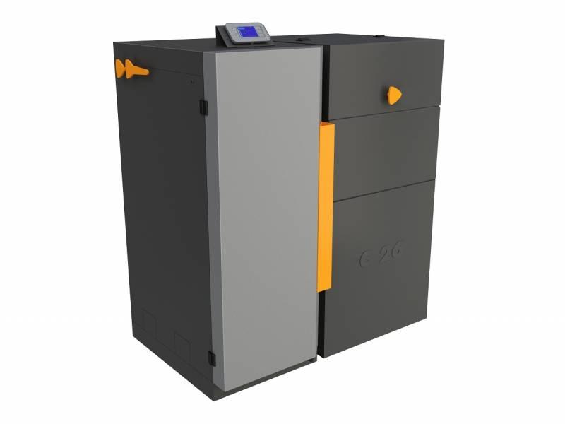 Automatický kombinovaný kotel na uhlí a pelety BENEKOV C 27 Premium, Climatix Premium, EkoDesign