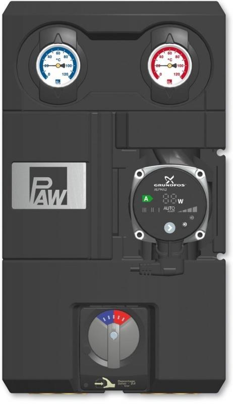 Ivar CS Kotlový modul HEAT BLOC K34 - 3cestný směšovací ventil - DN 25 - PAW.K34-DN 25