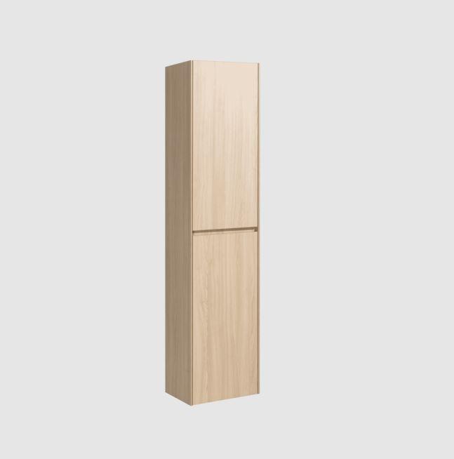 Koupelnová skříňka vysoká Naturel Verona 40x170x30 cm světlé dřevo