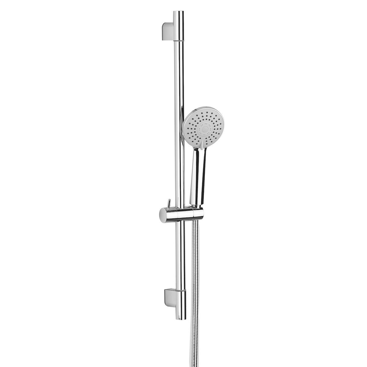 Multi Posuvný sprchový set 70cm, 3 funkce, kulatý design SL070NEW