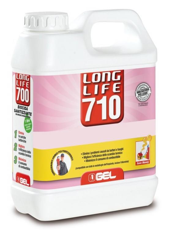 Ivar CS Ošetření topných systémů - eliminace bakterií a řas 0,5%, *AF - GEL.LONG LIFE 710