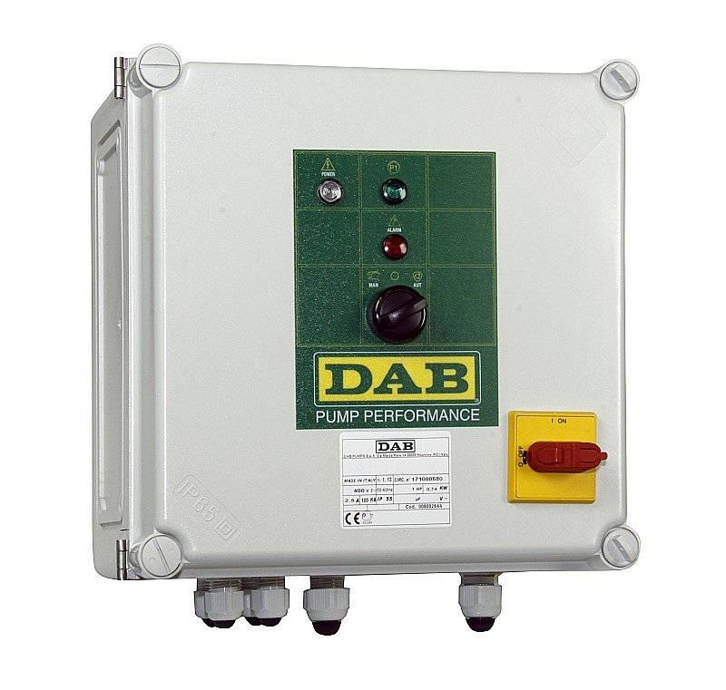 Ivar CS Ovládací panel pro dvě čerpadla DAB.PRISLUSENSTVI ED