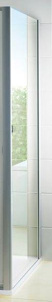 RAVAK Pevná stěna Pivot PPS-80 cm, čiré sklo