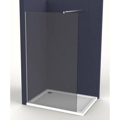 Pevná stěna Siko Walk-in Walk-in 80 cm, kouřové sklo