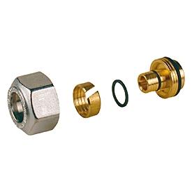 Giacomini R179AM Adaptér pro trubky PEX - AL - PEX, PEX a Pb, chrom