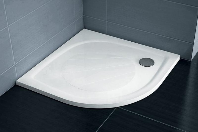 RAVAK Elipso Pro-80 white Sprchová vanička z litého mramoru 80x80 cm, R500
