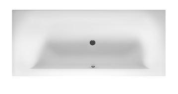 Obdélníková vana 180x80 cm, Linares Velvet