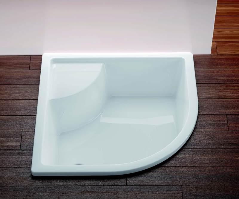 Ravak SABINA 80 LA sprchová vanička hluboká sedací 80x80 cm, R500