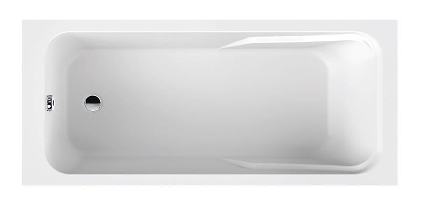 Sanplast Obdélníková vana WP/MO 170x80+STW, bílá