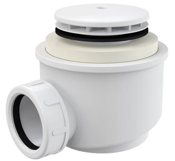 Alcaplast Sifon vaničkový bílý Ø50 mm A47B-50