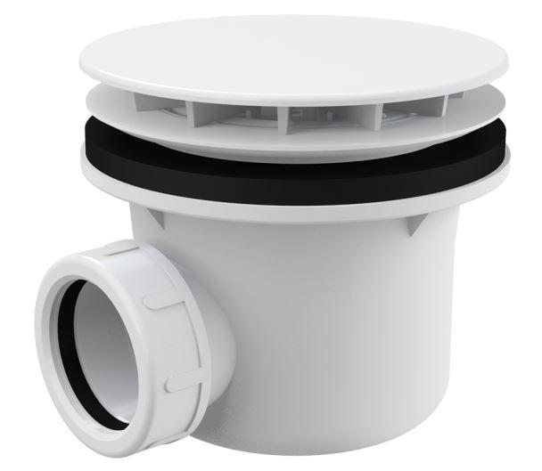 Alcaplast Sifon vaničkový bílý Ø90 mm A49B