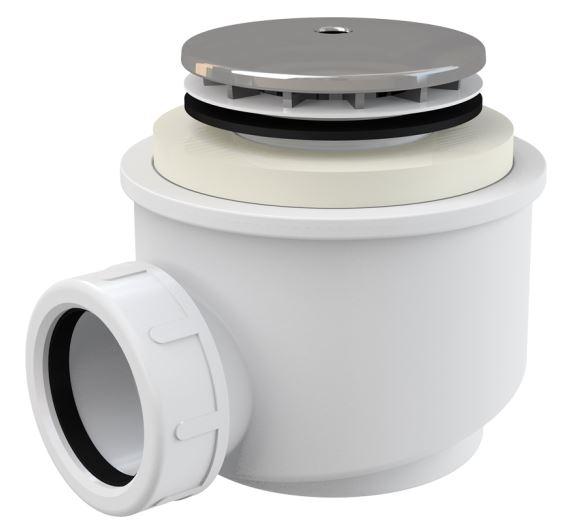 Alcaplast Sifon vaničkový chrom Ø50 mm A47CR-50