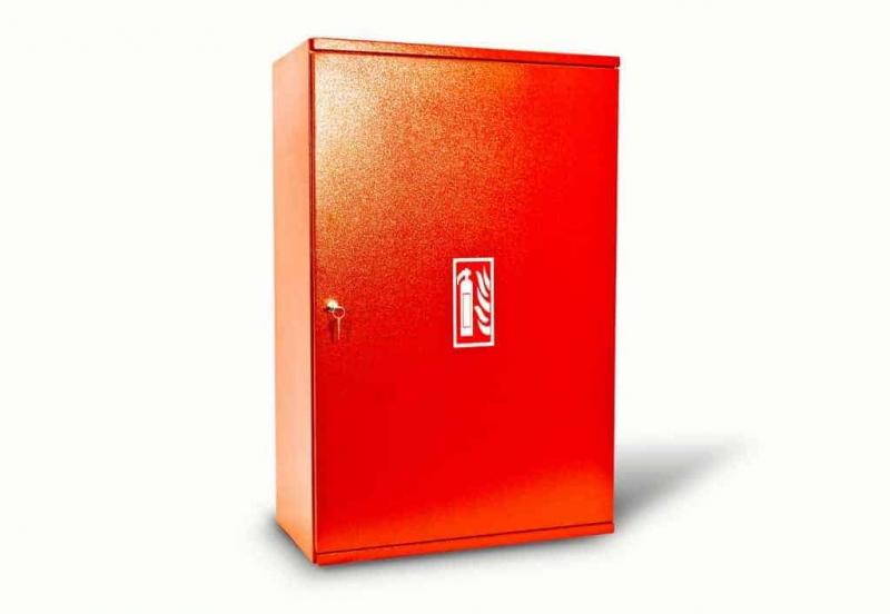 Kovo-Lemini Skříňka na hasicí přístroj 2xCO2-5KG, 850x560x270