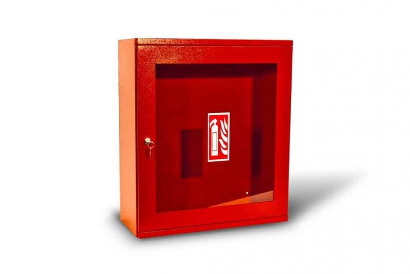 Kovo-Lemini Skříňka na hasicí přístroj 2xP6, 595x520x210