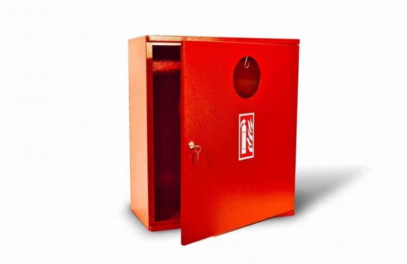 Kovo-Lemini Skříňka na hasicí přístroj 2xV9, 700x560x270