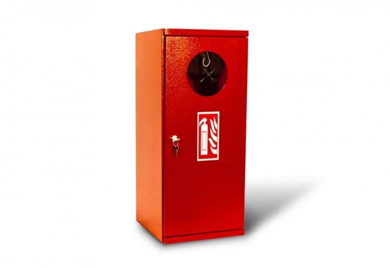 Kovo-Lemini Skříňka na hasicí přístroj V9 plné záda, 700x280x270