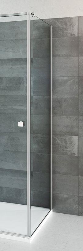 Sprchová boční stěna 80 cm Roth BI FXP/800 Brillant