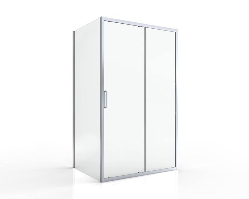 Sprchové dveře posuvné SIKO TEX 120 x 195cm, čiré sklo, chrom profil