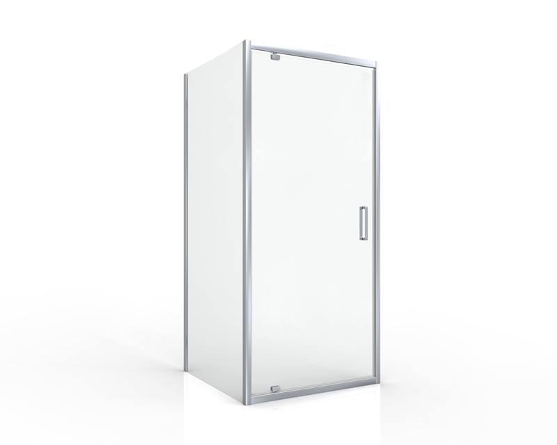 Sprchové dveře otočné SIKO TEX 77 x 195cm, sklo čiré, chrom profil
