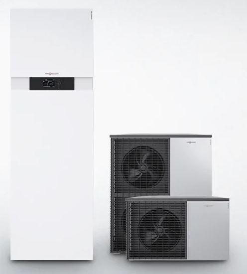 Viessmann Vitocal 222-S Splitové tepelné čerpadlo vzduch-voda 5,5kW/230V, zásobník TV 220l