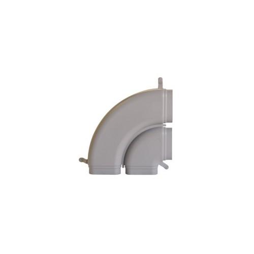 Zehnder OnFloor Koleno 90° dvojitého potrubí CK 300 H