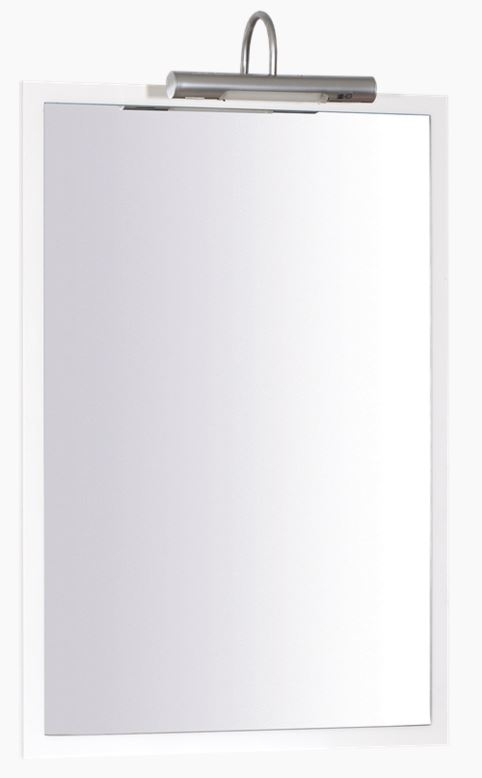 Keramia Zrcadlo v rámu Pro 55 cm, bílá PROZ55