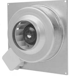2VV Nástěnný axiální ventilátor KVFU