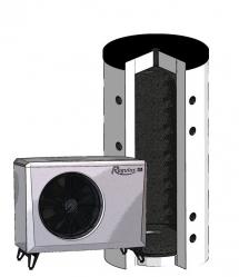 Regulus Tepelné čerpadlo vzduch/voda s akumulační nádrží EA 408 PS (15401)