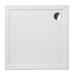 Akrylátová sprchová vanička FLAT KVADRO/1000, 100x100x5 cm