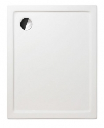 Akrylátová sprchová vanička FLAT KVADRO/1200x800,  120x80x5 cm