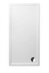 Akrylátová sprchová vanička FLAT KVADRO/1600x750, 160x75x6 cm