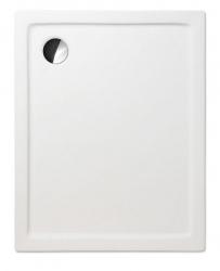 Akrylátová sprchová vanička FLAT KVADRO/800x900, 80x90x5 cm
