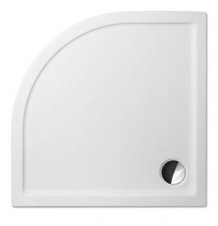 Akrylátová sprchová vanička FLAT ROUND/1000, 100x100x5 cm, R550