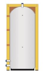 Akumulační nádoba s izolací pro TV (sanitární) - IVAR.EUROTANK