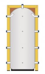 Akumulační nádoba s izolací pro uzavřené topné systémy - IVAR.PUFFER PS