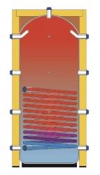 Akumulační nádoba s izolací s integrovaným výměníkem pro uzavřené topné systémy - IVAR.PUFFER PSR