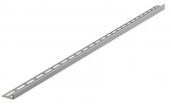 Alcaplast APZ901M Nerezová lišta pro spádovanou podlahu, tlouštka dlažby 10 mm, levá