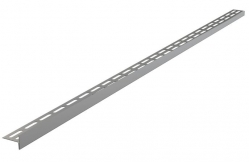 Alcaplast APZ904M Nerezová lišta pro spádovanou podlahu, tlouštka dlažby 12 mm, pravá