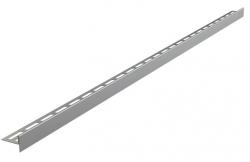 Alcaplast APZ905M Nerezová lišta pro spádovanou podlahu, tlouštka dlažby 12 mm, oboustranná