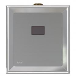Alcaplast ASP4-B Automatický splachovač pisoáru, kov/plast chrom, 6 V (napájení z baterie)