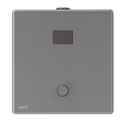 Alcaplast ASP4-KT Automatický splachovač pisoáru s manuálním ovládáním, kov, 12 V (napájení ze sítě) 2