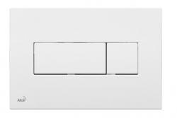 ALCAPLAST Ovládací tlačítko pro předstěnové instalační systémy (bílé) - M370