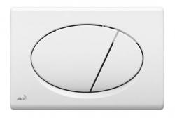 ALCAPLAST Ovládací tlačítko pro předstěnové instalační systémy (bílé) - M70
