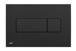 ALCAPLAST Ovládací tlačítko pro předstěnové instalační systémy (černé) - M378
