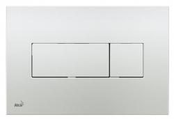 ALCAPLAST Ovládací tlačítko pro předstěnové instalační systémy (chrom - lesk) - M371